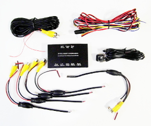 360 degree camera control box for bird eye view car system