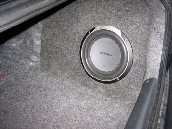 DIY car subwoofer fiberglass