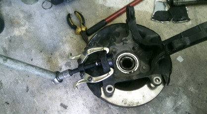 Front Lower Ball Joint Replacment