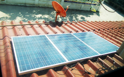 Install Grid-Tie Solar Power System